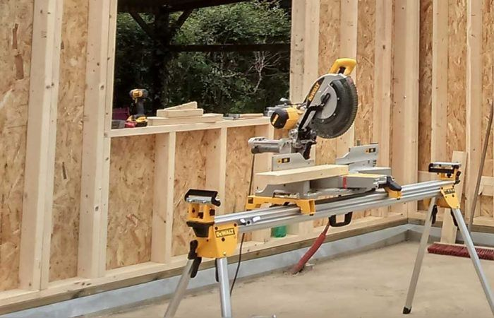 construction maison bois et béton
