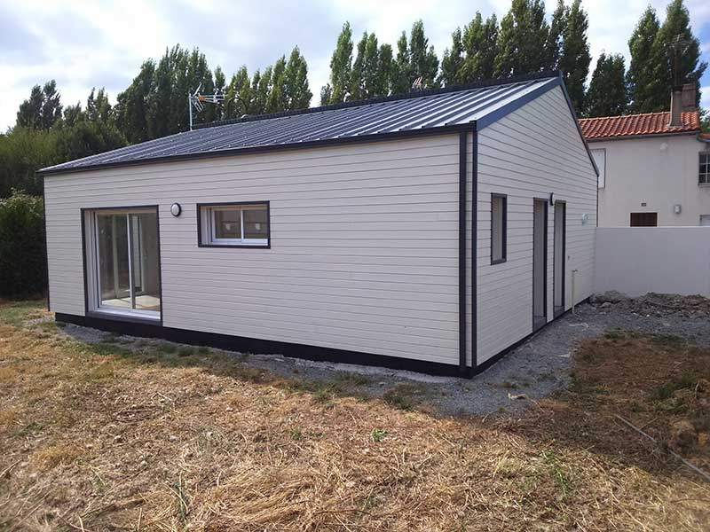 construction maison bardage bois