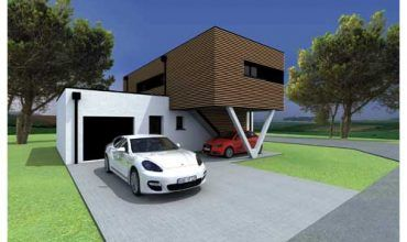 Maison passive second modèle