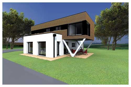 Maison passive troisième modèle