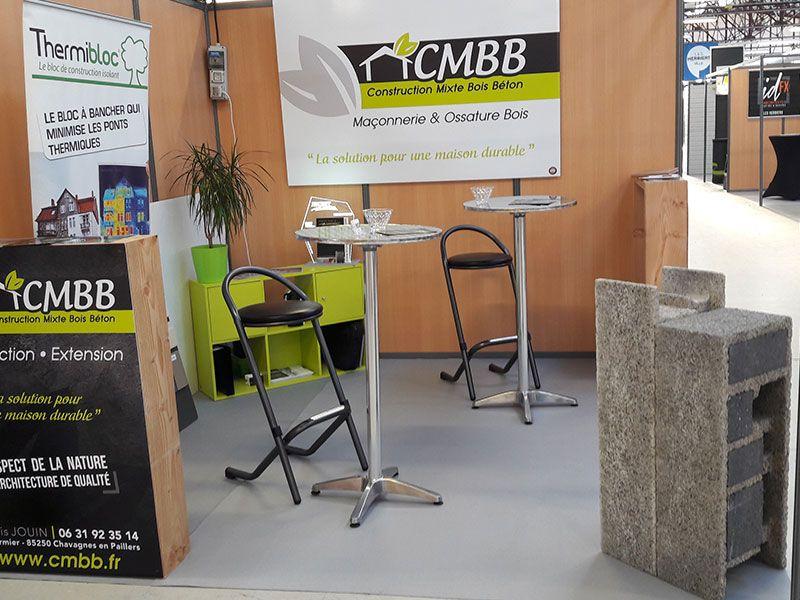 Stand CMBB, au salon de l'habitat des Herbiers 2017