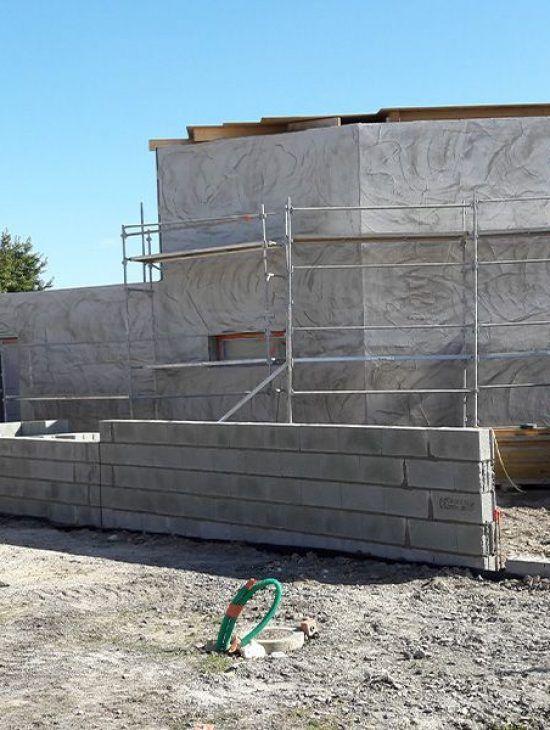 Construction d'une maison passive à Luçon