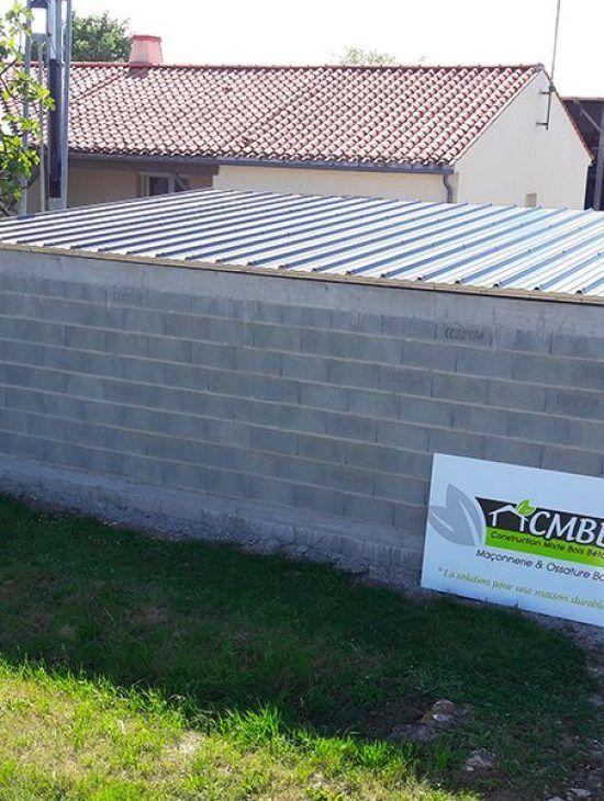 Construction de garage en sud Vendée