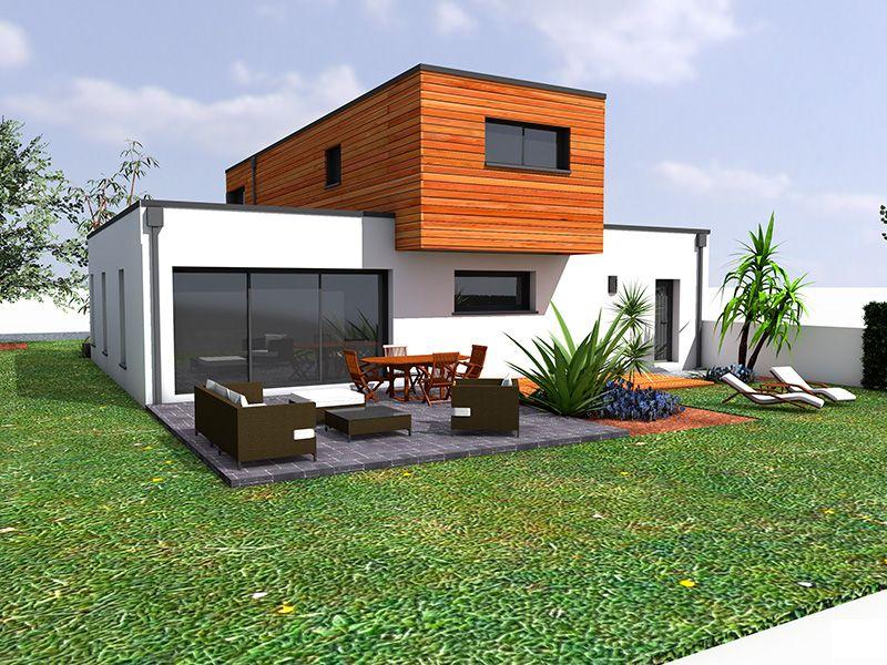 Construction mixte bois b ton un constructeur en b ton for Constructeur maison passive