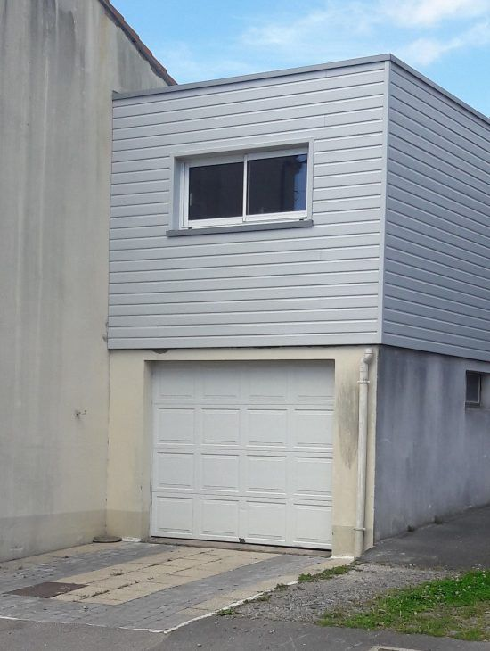 Rehaussement de garage à Nantes