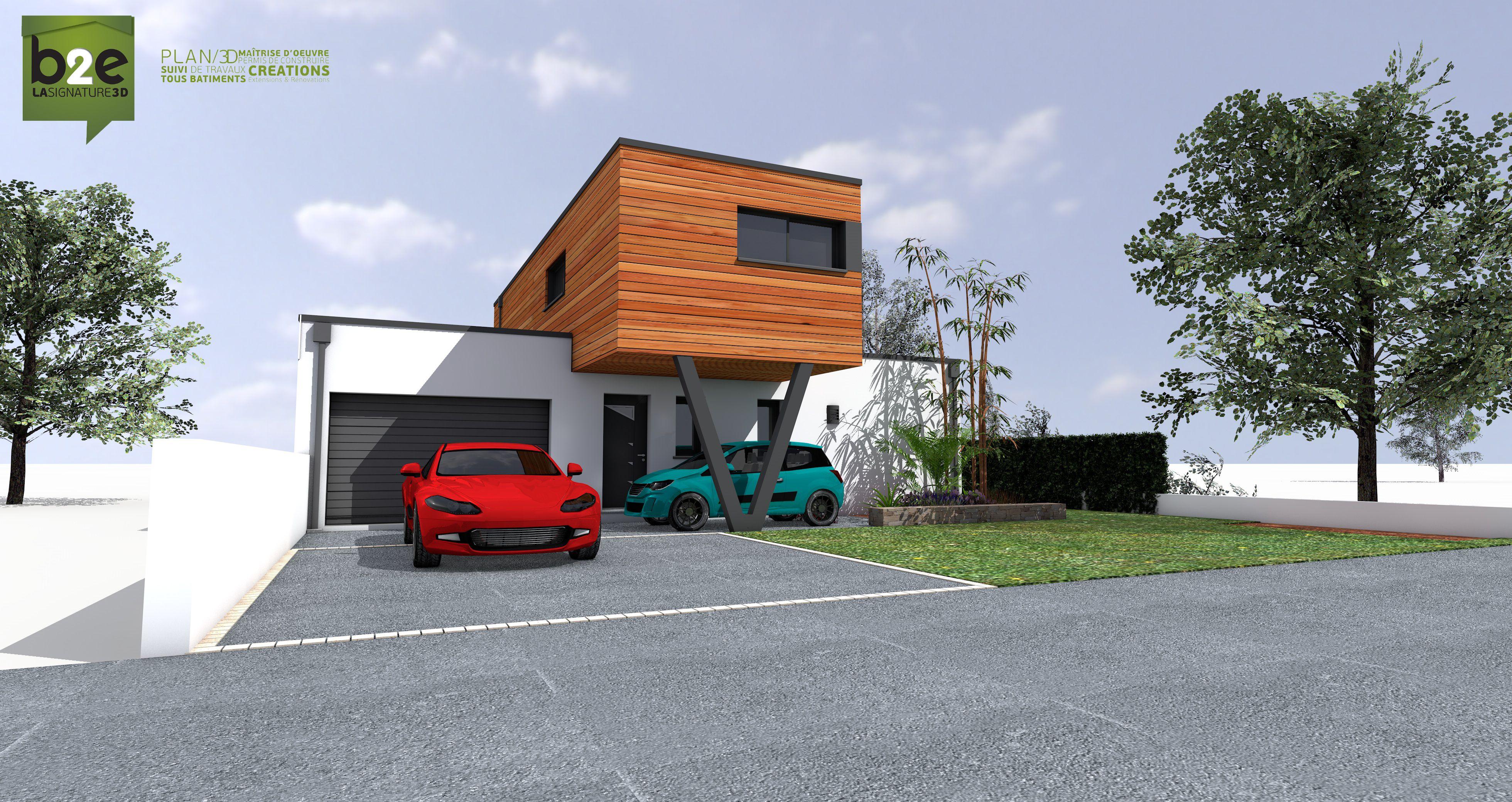 modèle de maison passive