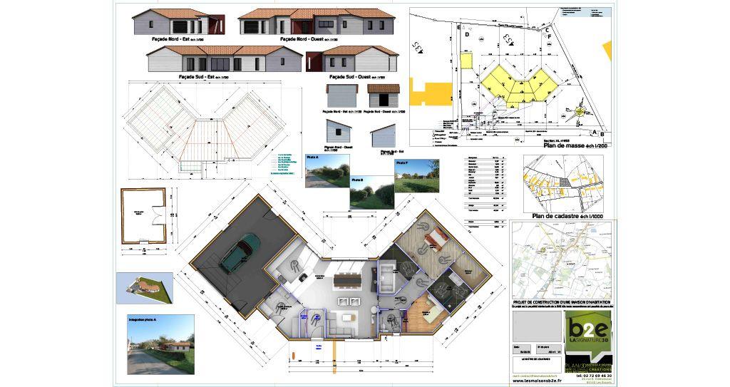 Maison passive de Langon
