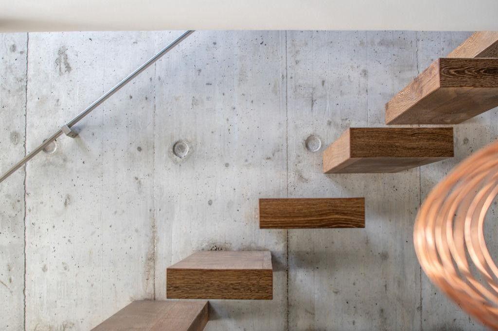 Escalier maison passive 85